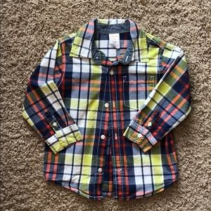 Gymboree long sleeve button down shirt